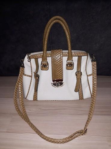 Bela torba, dobrog kvaliteta, jako očuvana - Nis