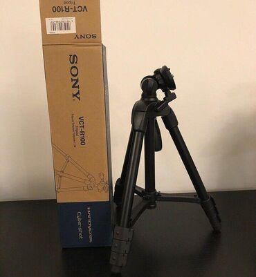 foto kamera - Azərbaycan: ORİGİNAN SONY VCT-R100 Ştativ Canon Nikon Sony DSLR Kamera üçün