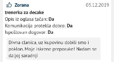 Zadovoljna zenica,hvala na ukazanom poverenju - Belgrade