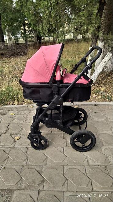 прогулочную коляску лёгкая и удобна в Кыргызстан: Продаю красивую😍, стильную🤩 коляску трансформер 2 в 1 В ИДЕАЛЬНОМ СОСТ