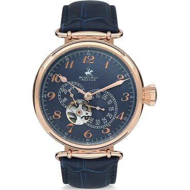 Ремонт коробки механика бишкек - Кыргызстан: Голубой Мужские Наручные часы Beverly Hills Polo Club