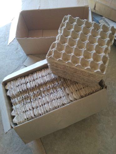 Каробки под яица 1500 штук по 2 сома сост. отличное в Бишкек