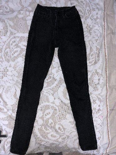 джинсы размер xs в Кыргызстан: Чёрные джинсы на рост 150-165, размер xs, s, цена договорная