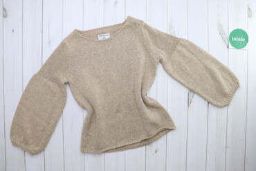 Жіночий светр з золотистою ниткою Rick Cardona, p. L    Довжина: 62 см