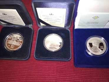 Продаю серебряные монеты барс 4000с, в Бишкек