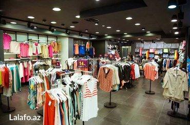 Bakı şəhərində Satıcı xanımlar teleb olunur teecili  qadın geyimleri dükanına fiks