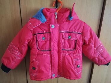 Postavljena jaknica za devojcice, prelazna, nije bas za zimu. Velicina