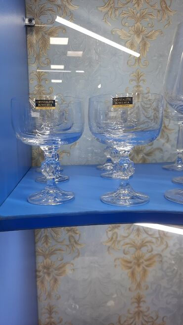 дом на колесах цена бишкек в Кыргызстан: В наличии большой ассортимент креманок,фужеров,бокалов,рюмок,стаканов!
