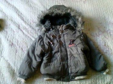 Bakı şəhərində зимняя куртка,очень тёплая. Размер 1-2 года. капюшон на молнии.
