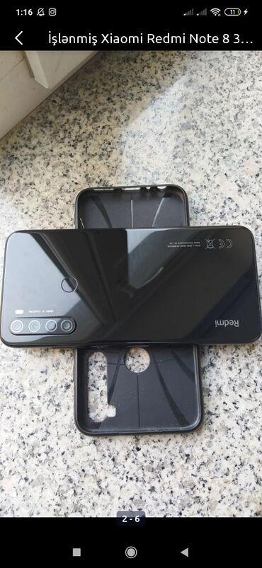 bmw 8 серия 850ci mt - Azərbaycan: İşlənmiş Xiaomi Redmi Note 8 64 GB qara