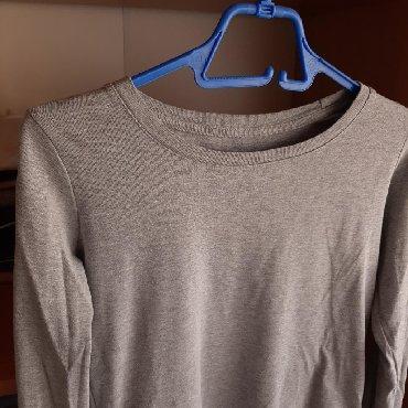 Majica-dug - Srbija: Siva majica na dugačak rukav, veličina M