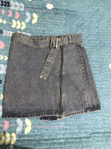 Качественная, модная джинцевая юбка, покупала за 800, продаю за 350