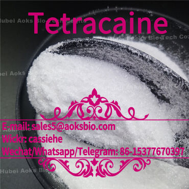 Tetracaine Hydrochloride CAS 136-47-0 with best PriceProduct name