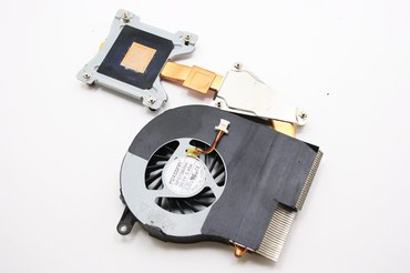 Hp G62 noutbuk üçün kuler və radiatorвентилятор+радиатор для ноутбука