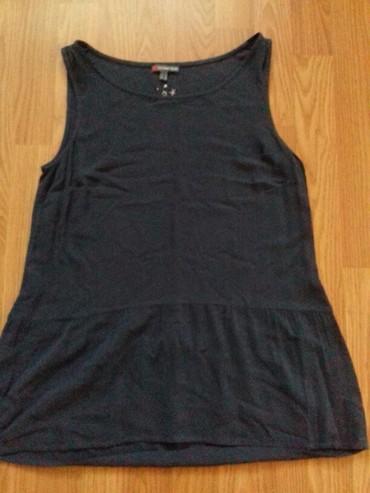 Majica vel.36 siva boja materijal kao kosuljica bukvalno nova - Prokuplje