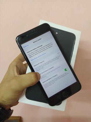 Apple Iphone - Azərbaycan: İşlənmiş iPhone 7 Plus 32 GB Qara