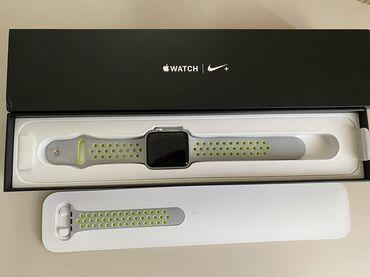 apple watch 2 в Кыргызстан: Продаю Apple Watch Nike series 2 42mm silver в хорошем состоянии!