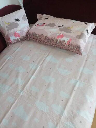 Dečija posteljinaJorganska navlaka 140x200,jastučnica 60x80,čaršaf
