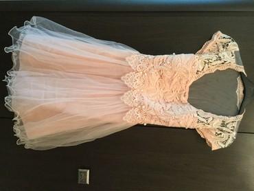 ярко розового цвета в Кыргызстан: Новое платье, размер S, цвет нежно-розовый