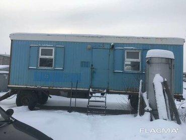 офис на колесах продам в Кыргызстан: Продам строительный вагончик на колесах в отличном состоянии