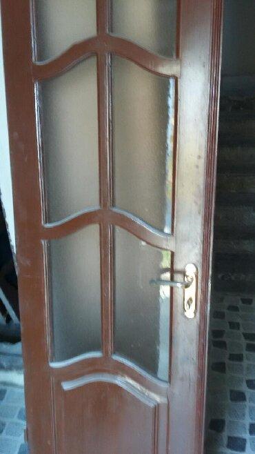 балка сосна в Азербайджан: Двери межкомнатные из цельного дерева,сосна. 2 двойные,1 одинарная