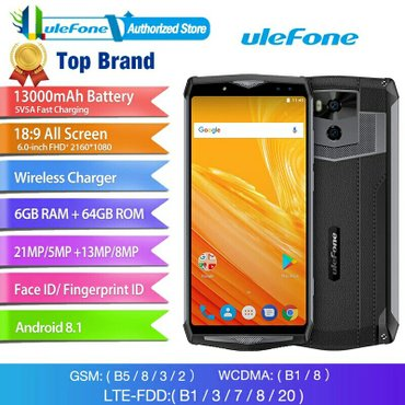 Ulefone power 5 telefonuTelefonun qalinligi batareyka ile elaqedar 1