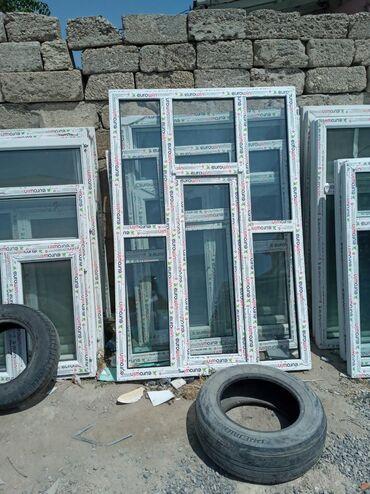 Pəncərələr - Azərbaycan: İslənmis sifer pencere  Bine sovxoz ulvi sadliq sarayin qarsisi