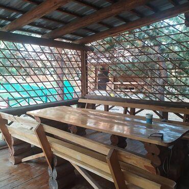 Отдых на Иссык-Куле - Бает: Деревянные срубы двухэтажные для отдыха,экологически чистые