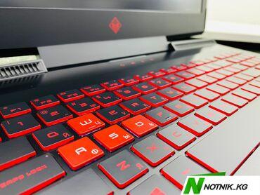 компьютер в Кыргызстан: Мощный игровой НоутбукHP OMEN-модель-17-an068ur-процессор-core