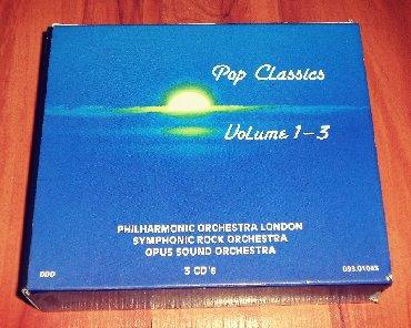 Knjige, časopisi, CD i DVD | Loznica: Pop Classics Volume 1-3 3CD BOXPhilharmonic Orchestra London*