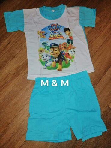 Dečiji Topići I Majice | Borca: Paw patrol pamučne pidžamice Dostupne veličine 2, 4, 6, 8, 10, 12Samo