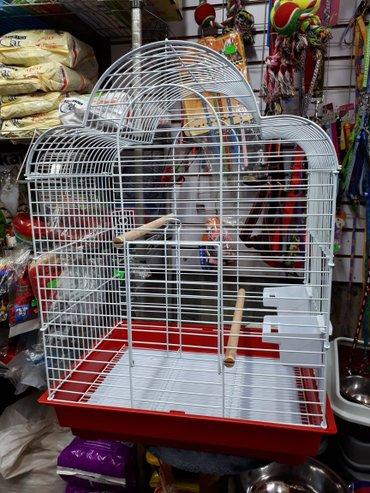 Клетка для попугая высота 68см. шир 40. длина51см в Бишкек