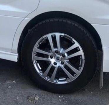 шина 16570 r13 в Кыргызстан: Продаю диски с летней резиной 225/60 R17 M/S диски не варенные не