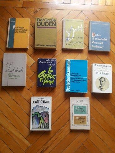 Bakı şəhərində Alman dilinde kitablar