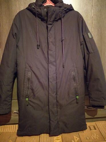 кожаная куртка мужская купить в Кыргызстан: Парка мужской размер 48.50. Состояние отл