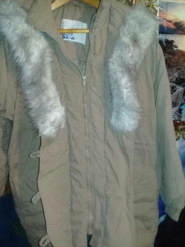 Куртка женская р. 48-50 с капюшоном в Бишкек