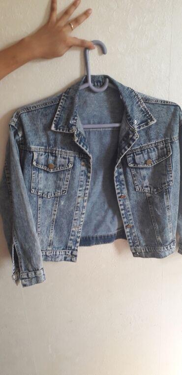Женская куртка джинсовка Носили месяц
