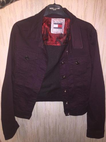 джинсова курточка в Кыргызстан: Джинсовая курточка размер 46 в отличном состояние