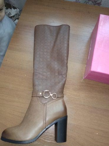 Продаю новые сапоги зима.размер 39-40 в Бишкек