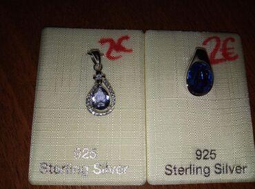 Украшения в Сокулук: Продаю серебряные кулоны. 925 проба НОВЫЕ. Сокулук