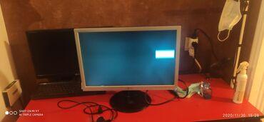 Monitorlar - Azərbaycan: Ekran satılır 22 lik lg yaxşı vəzyətdədir ekran eve getrende kuncunu
