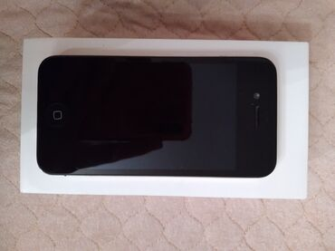 зарядка iphone 4s в Азербайджан: Б/У iPhone 4S 64 ГБ Черный
