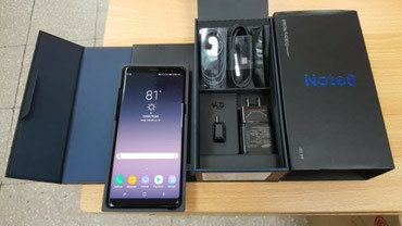 Brand New Samsung Galaxy note 8 128GB black color σε Thessaloniki