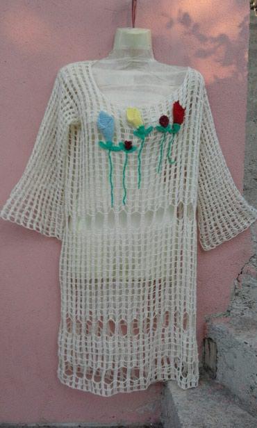 Heklana haljina .tunika rucni rad novo - Vrnjacka Banja