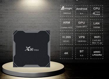 Bakı şəhərində Smart TV Box X96Max