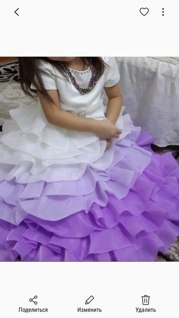 Детское платье на 4,5 лет на прокат 500с вотсап в Бишкек