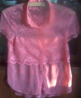 Красивая нежная блузка известного в Бишкек