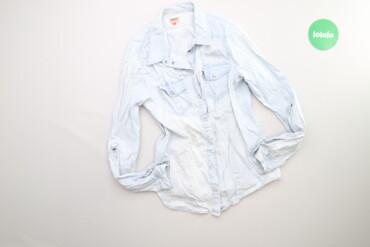 Рубашки и блузы - Цвет: Голубой - Киев: Жіноча джинсова сорочка Only, p. M    Довжина: 62 см Ширина плечей: 36