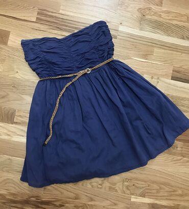 Zara haljina nosena ali u super stanju bez ostecenja. Ima postavu. Naz