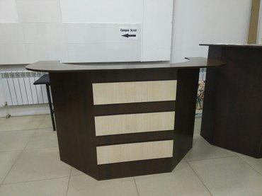 Мебель для офиса , ресепшн, шкаф, новая,  качественная , дерево,    в Бишкек